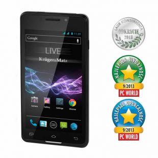 Smartfon Kruger&Matz LIVE BLACK